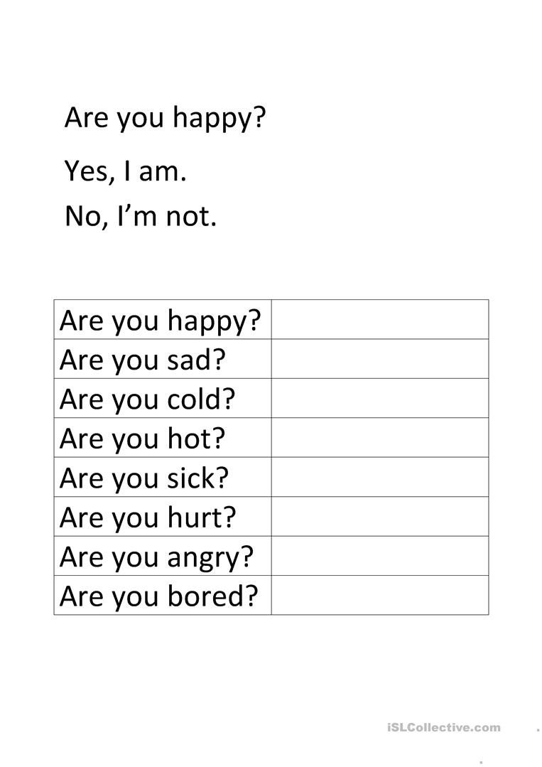 are you happy is he happy conversation topics dialogs 1