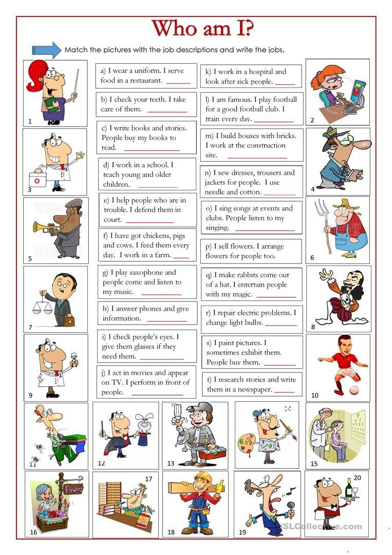 Who Am I Worksheets who Am I English Esl Worksheets for Distance Learning and