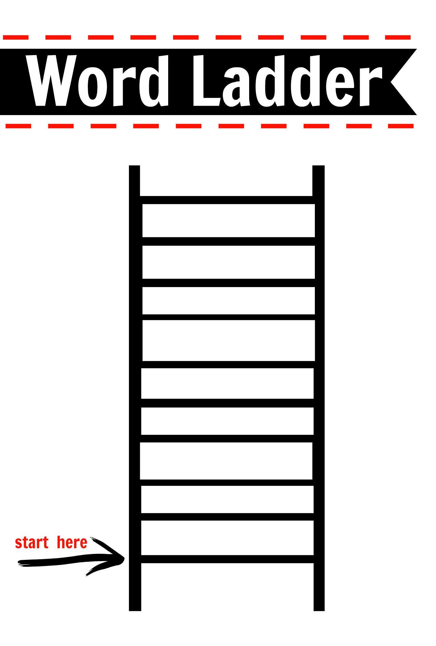 Word Ladder Worksheets Pin On 2nd Grade