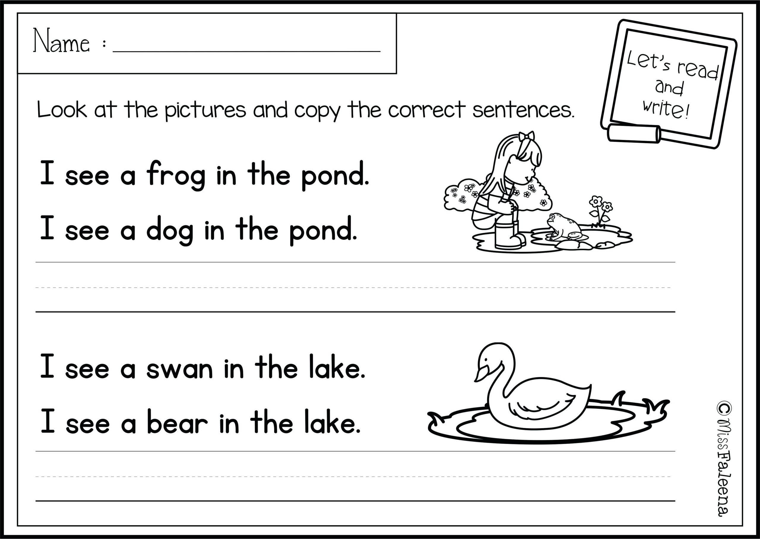 Word Problems Kindergarten Worksheets Worksheet Phonics Writing Worksheets Math Problems Sight