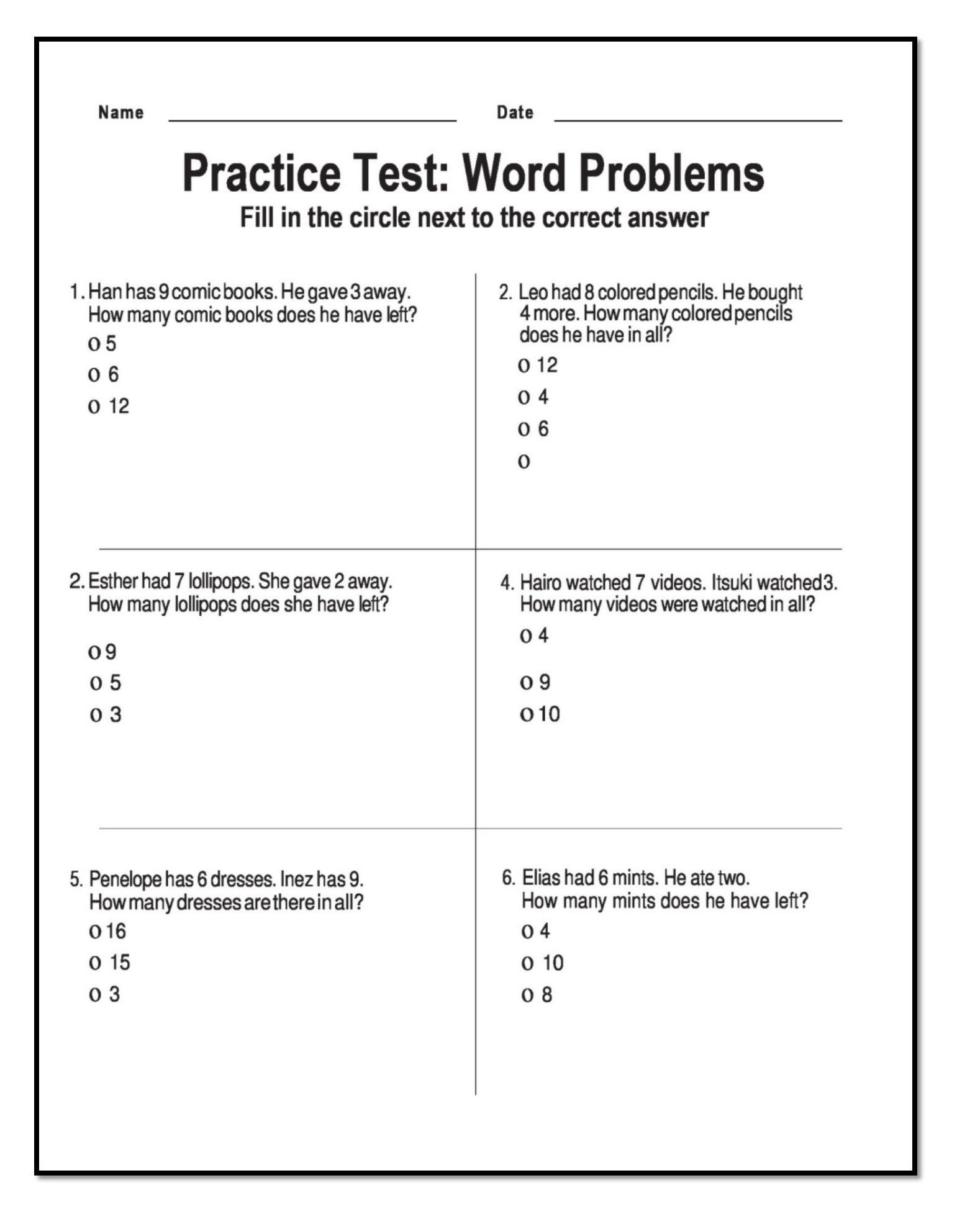 Word Problems Worksheets 1st Grade 10 Amazing 1st Grade Math Word Problems Worksheets Samples