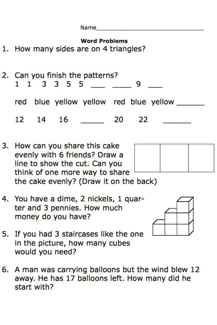 Word Problems Worksheets 1st Grade Free Printable Worksheets for Second Grade Math Word