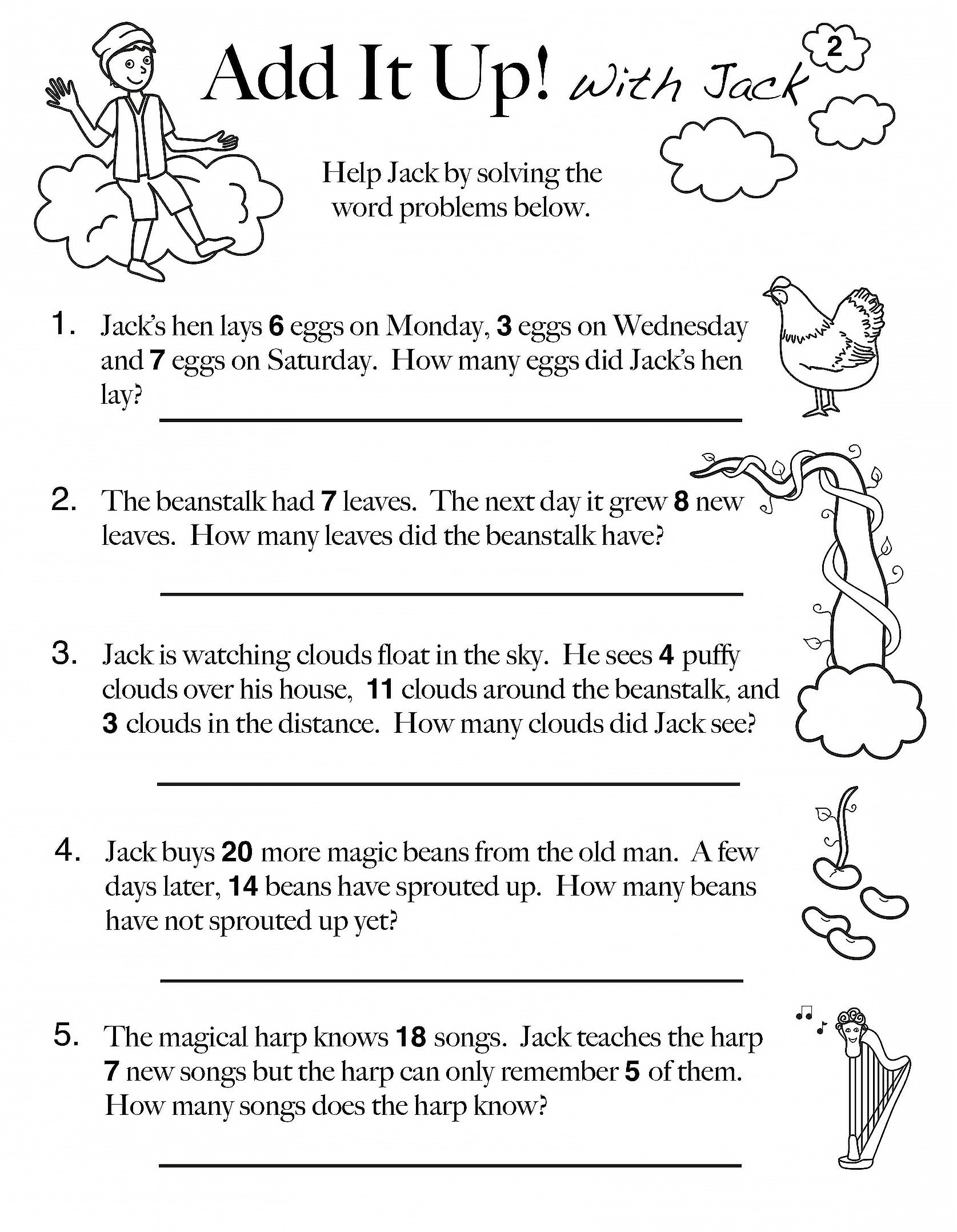 Word Problems Worksheets 1st Grade Math Worksheet 43 1st Grade Maths Worksheets Picture Ideas