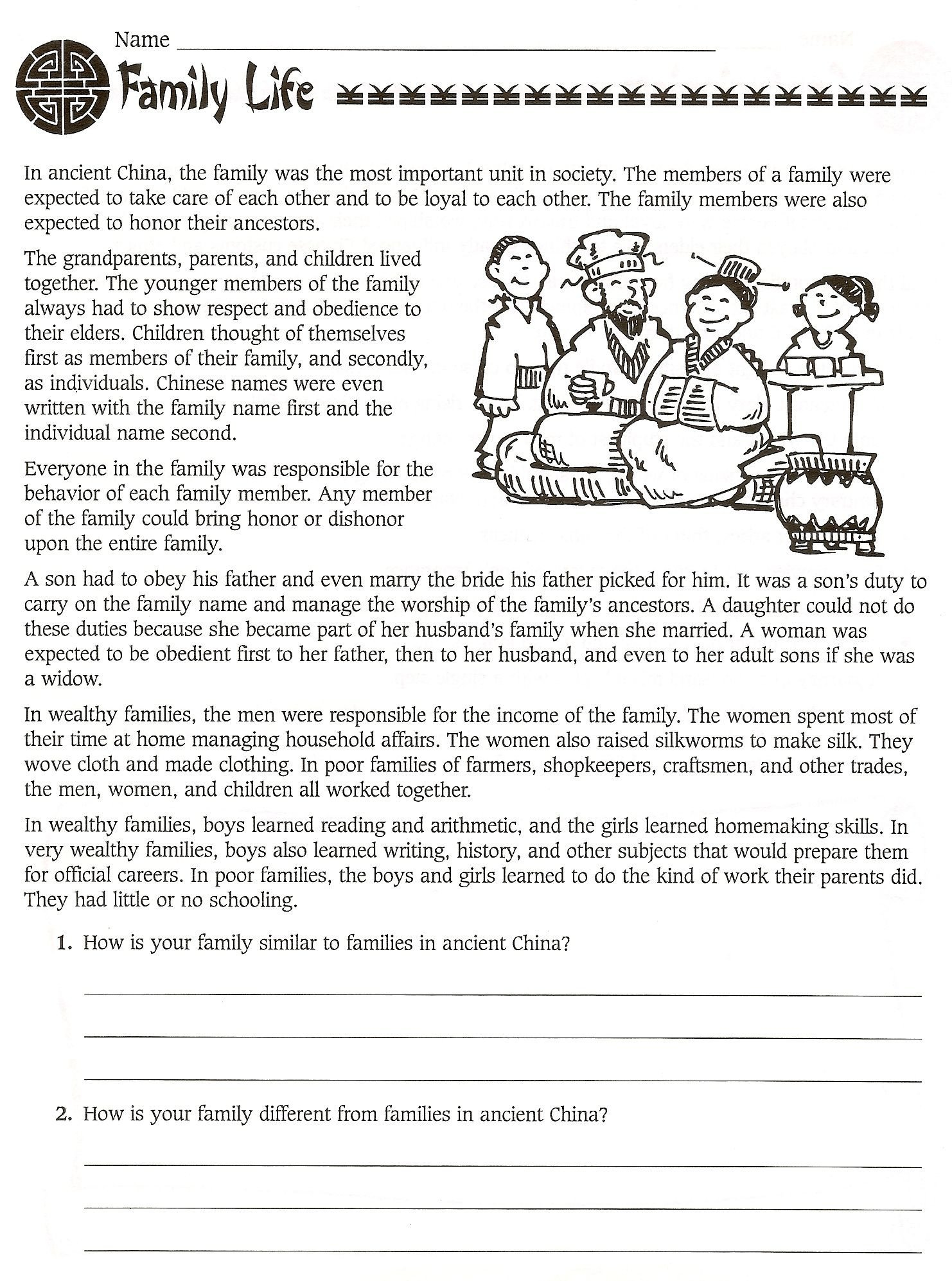 1st Grade History Worksheets 13 Best 6th Grade World History Worksheets Images On Best