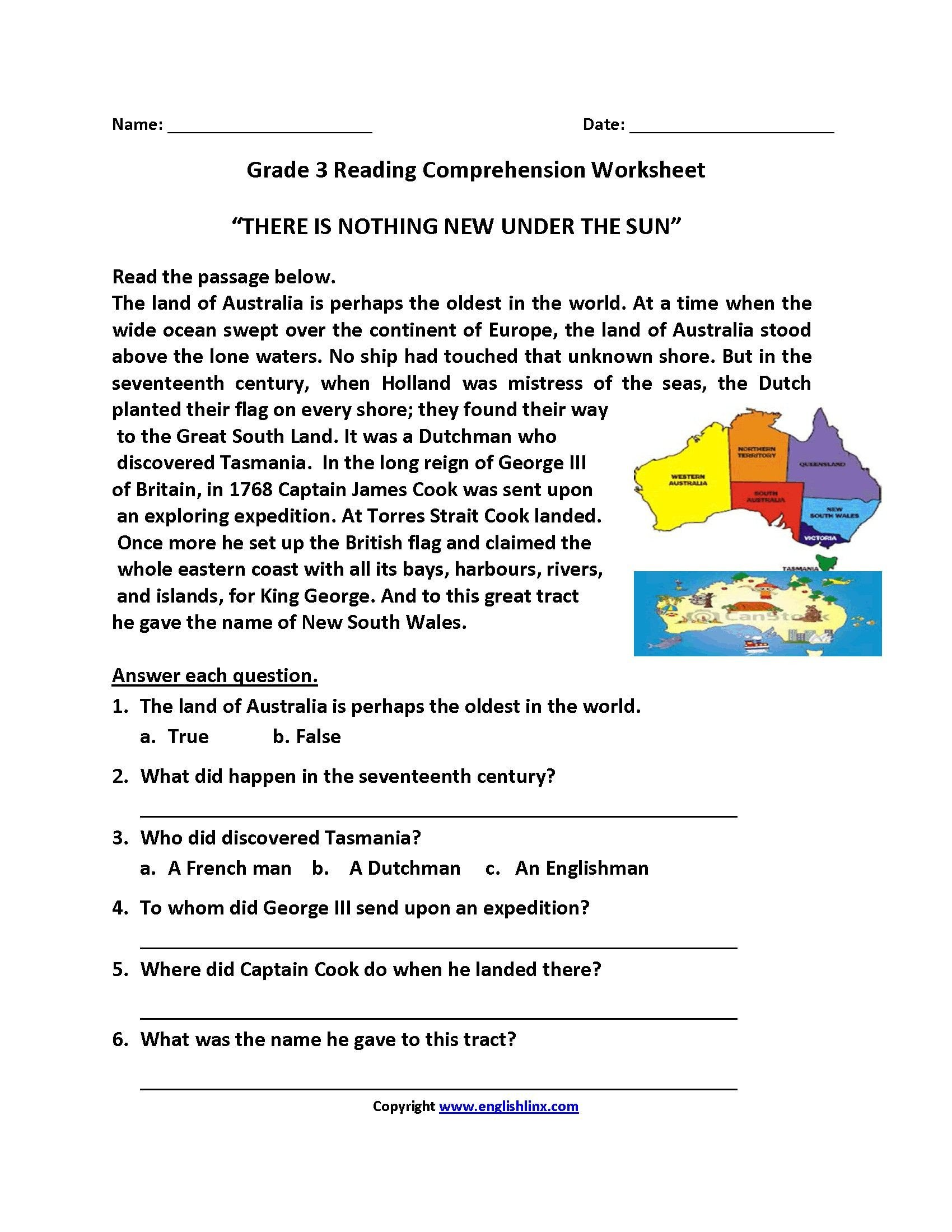 3rd Grade Grammar Worksheets Free 3 Worksheet Free Grammar Worksheets Fourth Grade 4