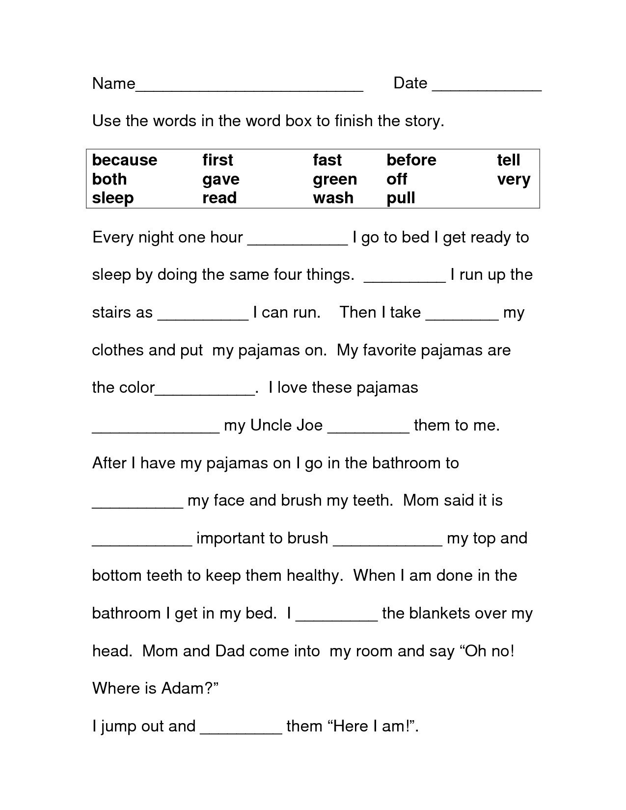3rd Grade Grammar Worksheets Free 3rd Grade Worksheets Best Coloring Pages for Kids