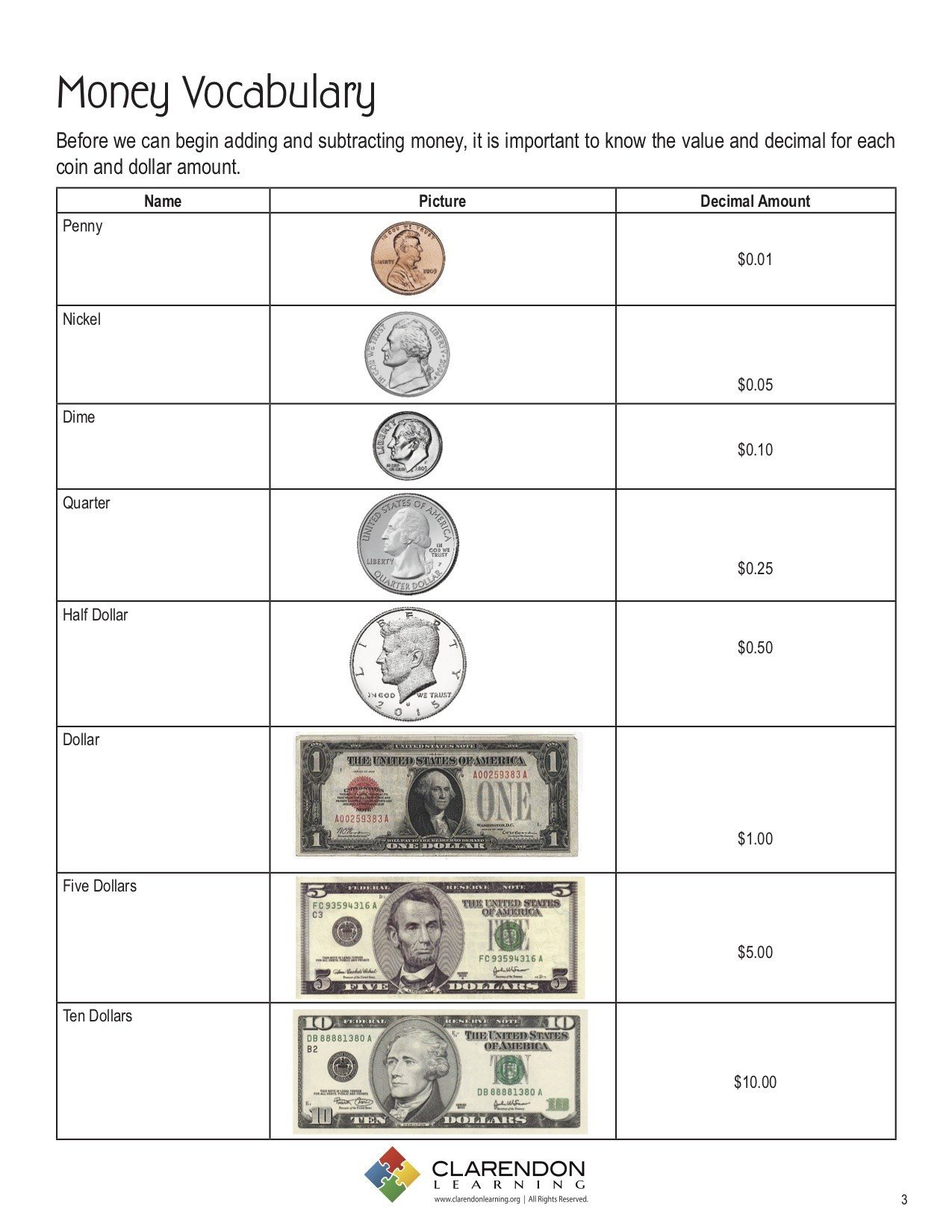Adding and Subtracting Money Worksheets Engageny Math Worksheet Adding Money