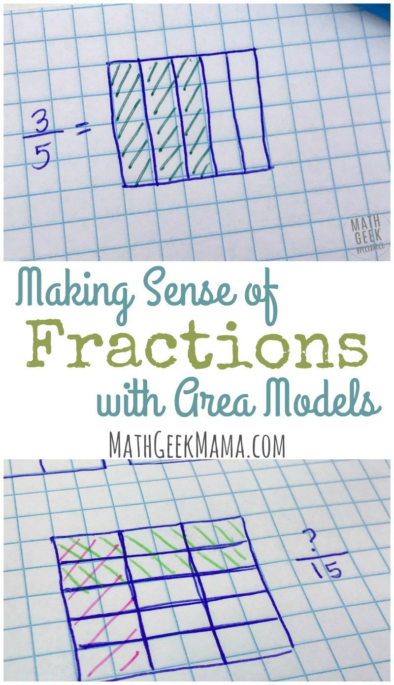 Fractions with area models PIN