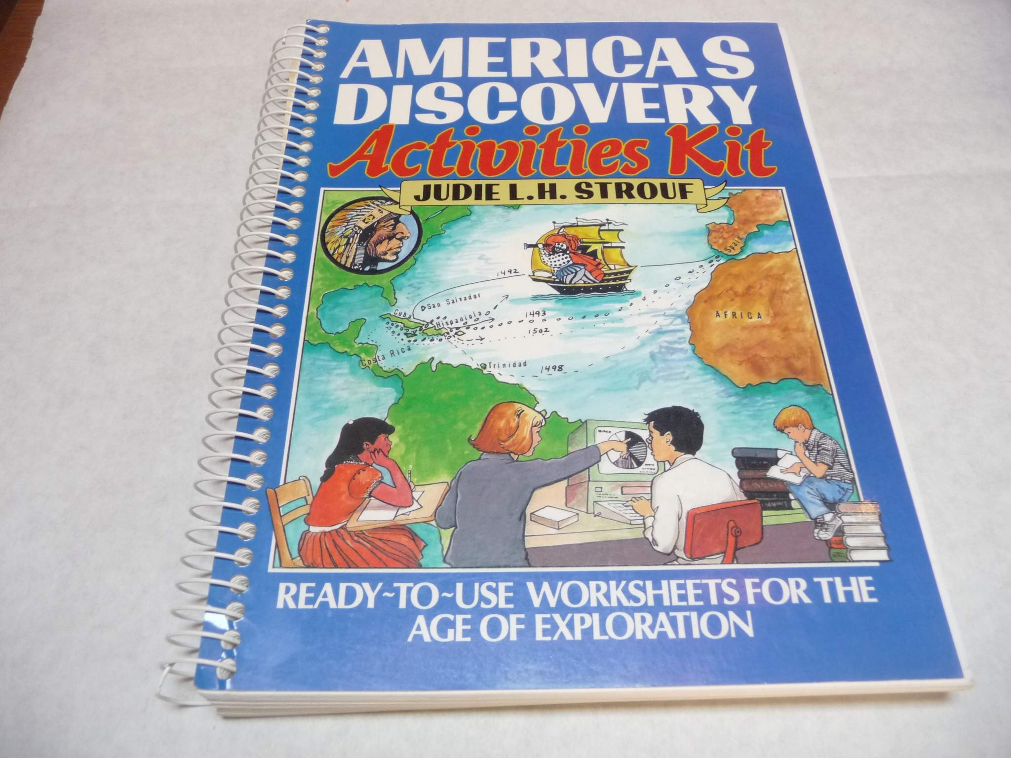 Age Of Exploration Worksheets America S Discovery Activities Kit Ready to Use Worksheets