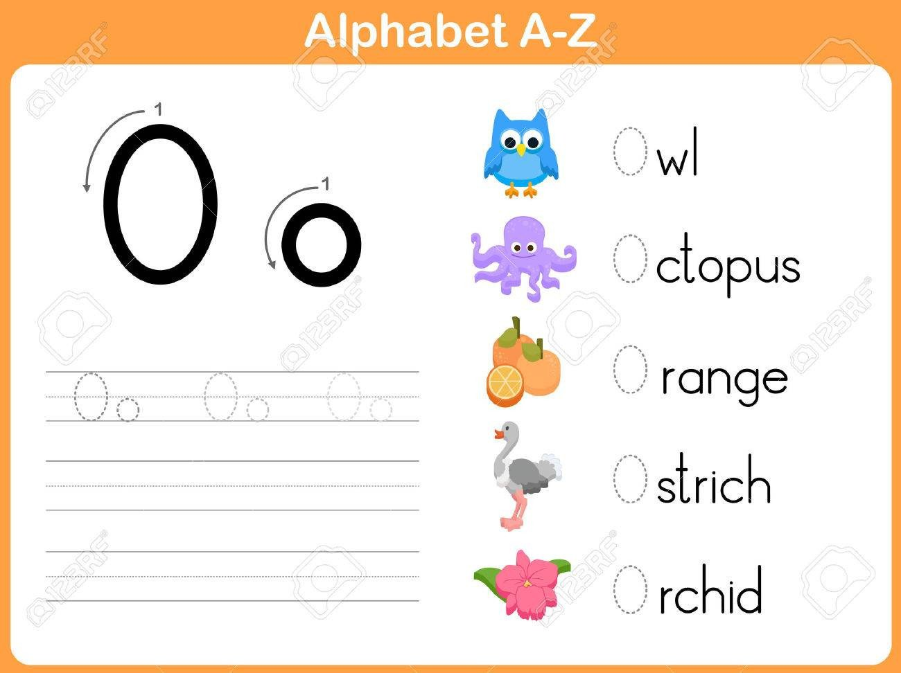 photo stock vector alphabet tracing worksheet writing a z