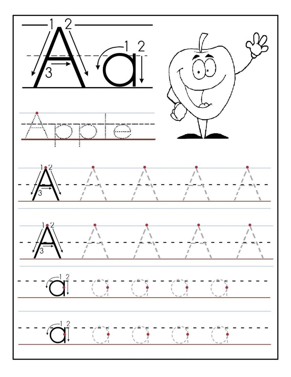 kindergarten alphabet tracing worksheets fun loving printable outstanding for picture ideas pdf 1024x1325