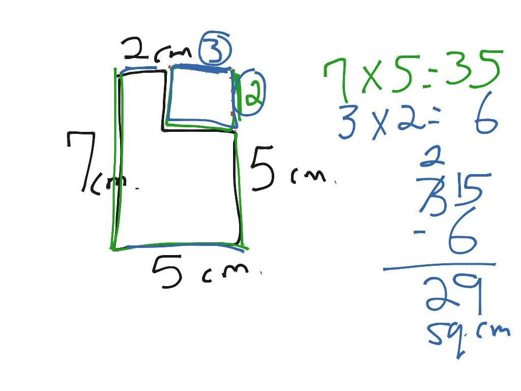 Area Irregular Shapes Worksheet area Of Irregular Shapes
