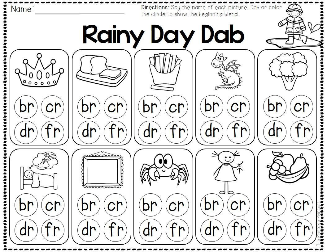 Blends Worksheet for First Grade Pin by Stephanie Woods On Blends