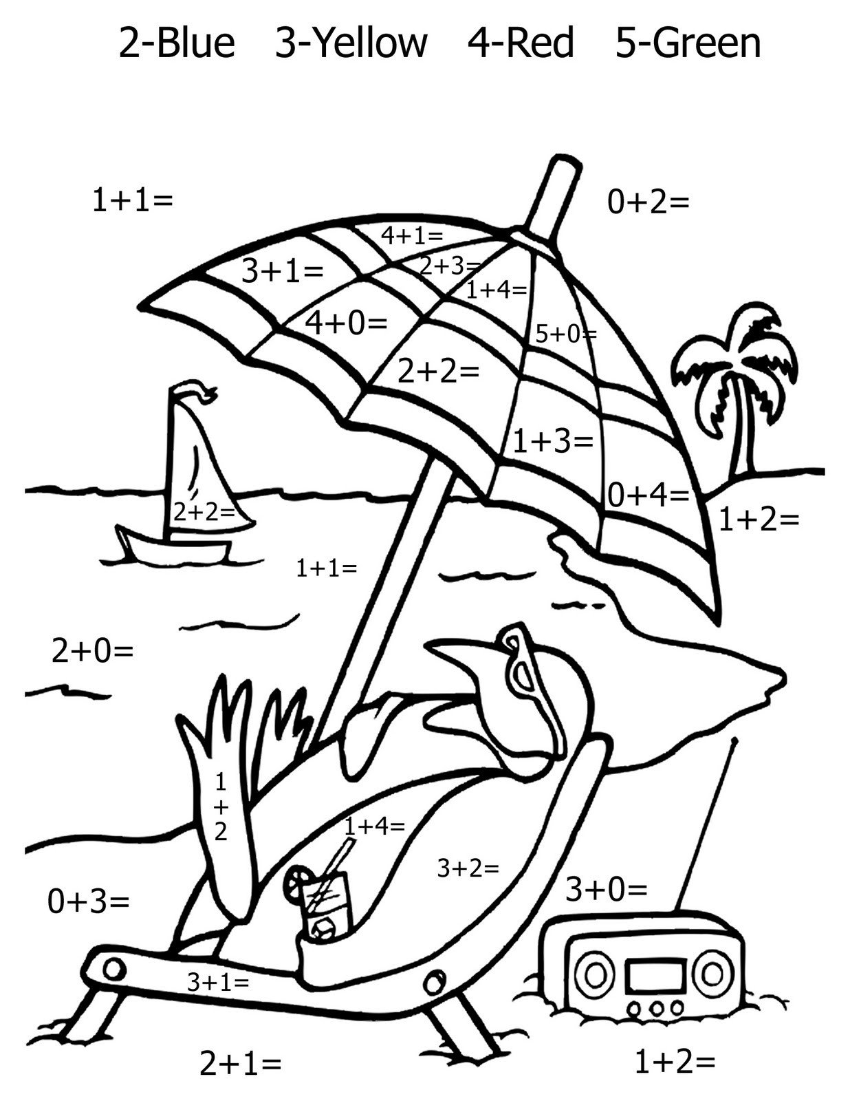 Coloring Addition Worksheet Math Coloring Pages Best Coloring Pages for Kids