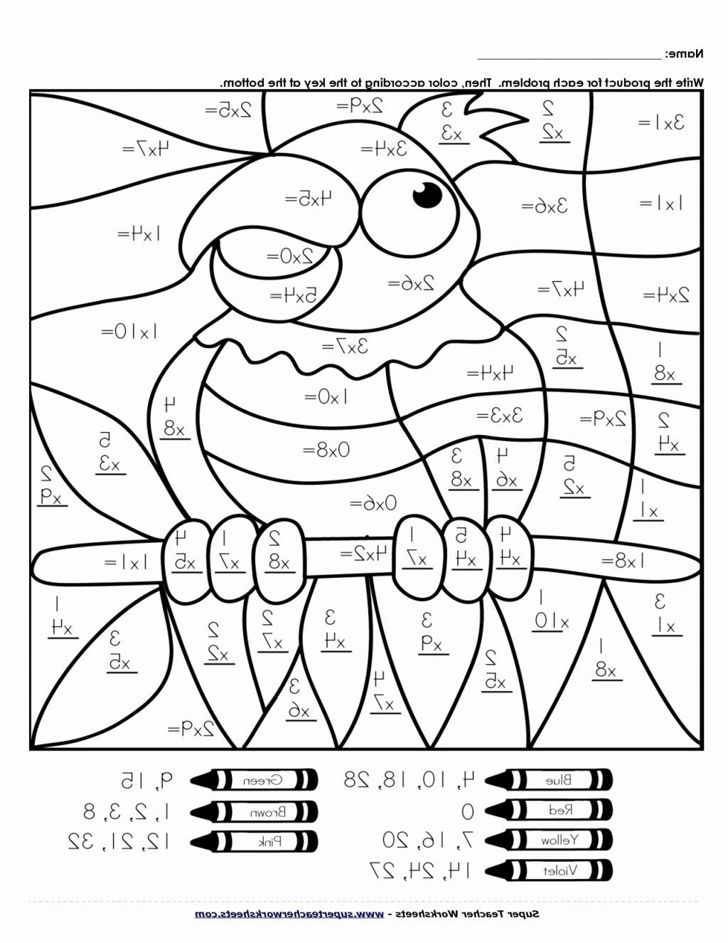 Coloring Addition Worksheet Math Worksheet Matht Coloring Page Pages Designts 4th