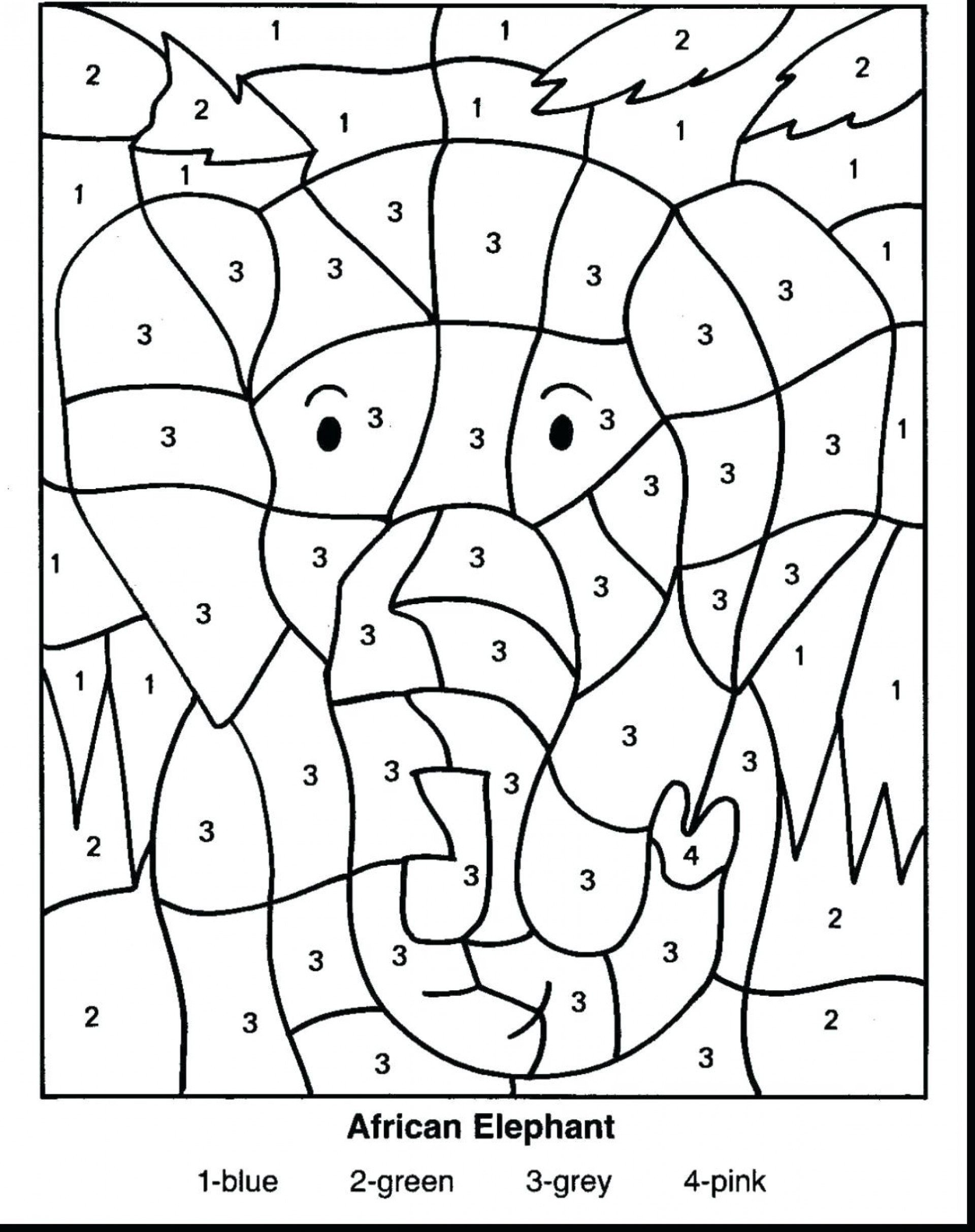 Coloring Addition Worksheet Printable Math Worksheets Fun Coloring Book Addition Free