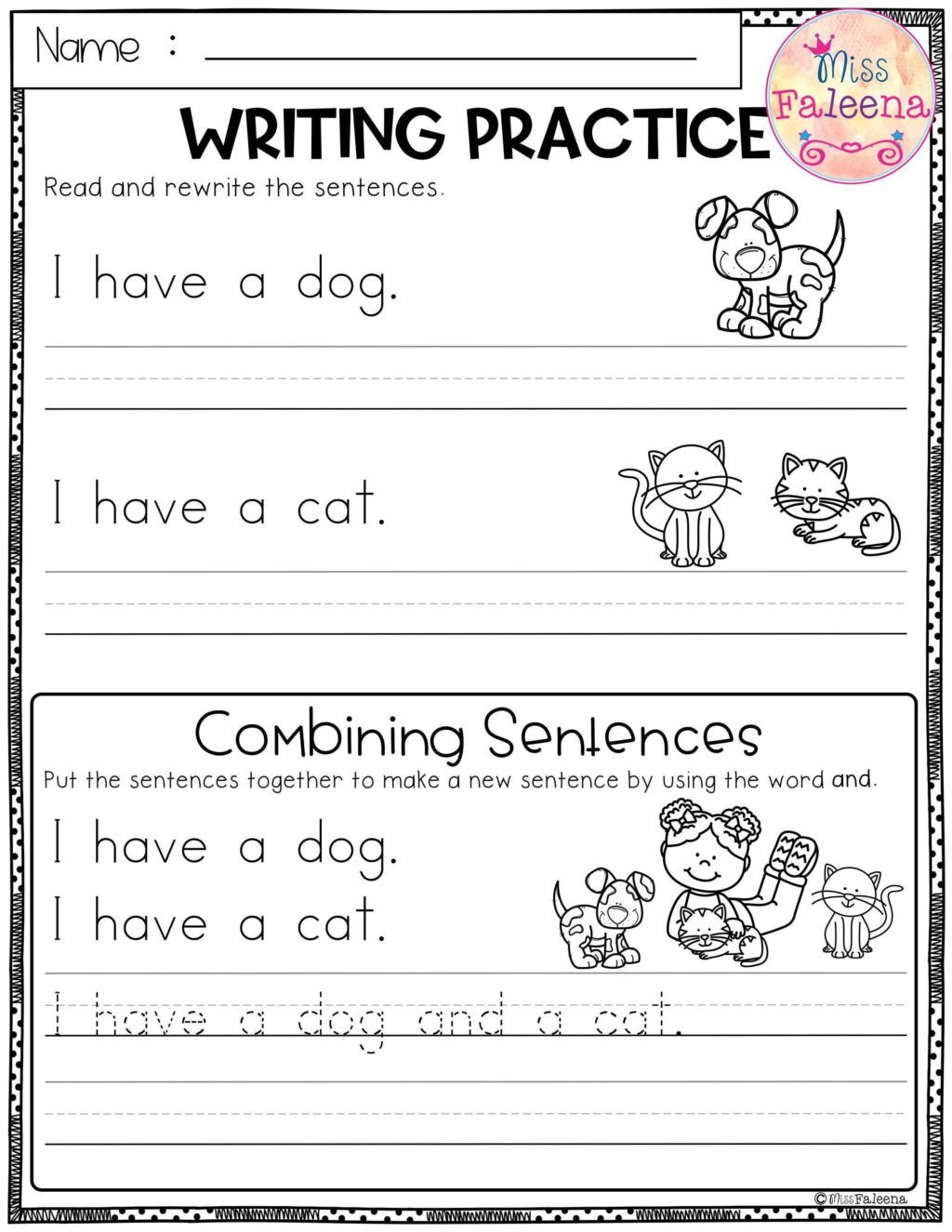 excelent free writing worksheets practice bining sentences best software for 1024x1325