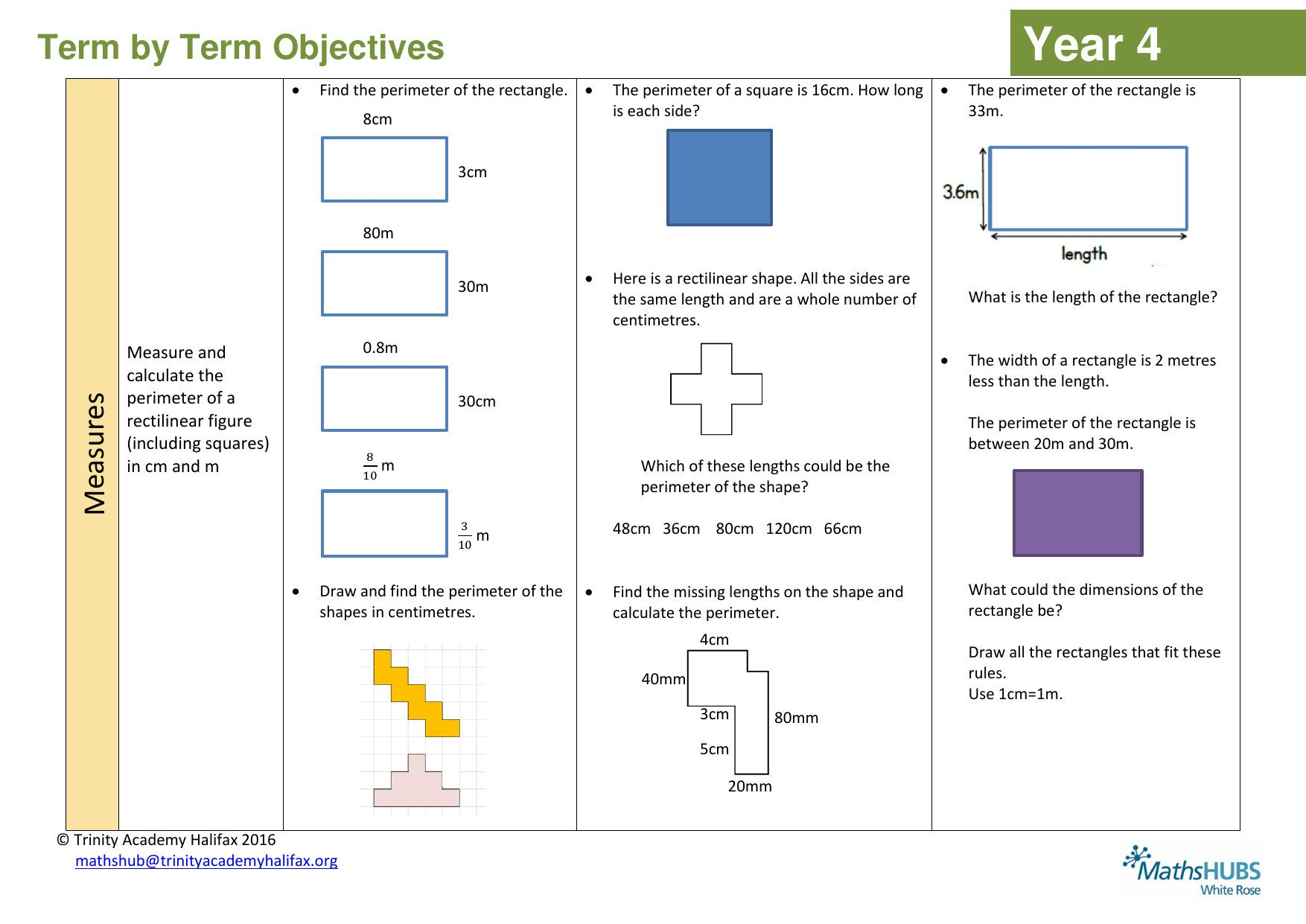 the best perimeter problems for primary maths teaching resources for ks1 and ks2