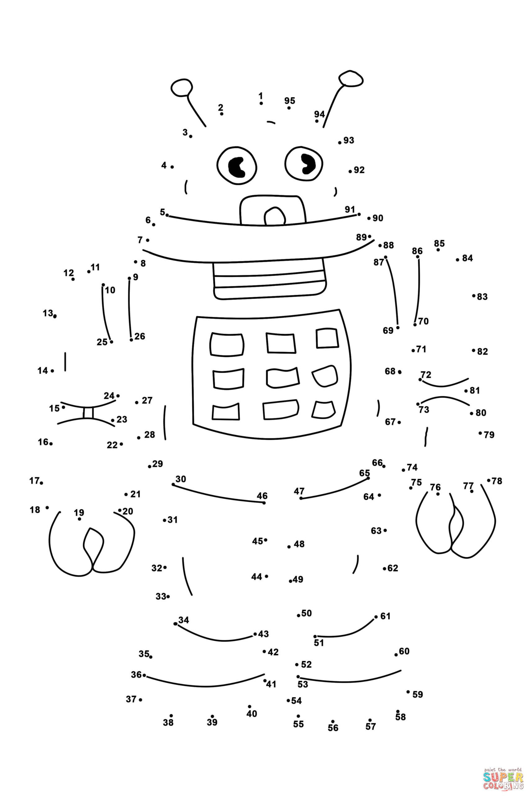 Connect the Dots Math Worksheets Worksheets Coloring Christmas Connect the Dots Az