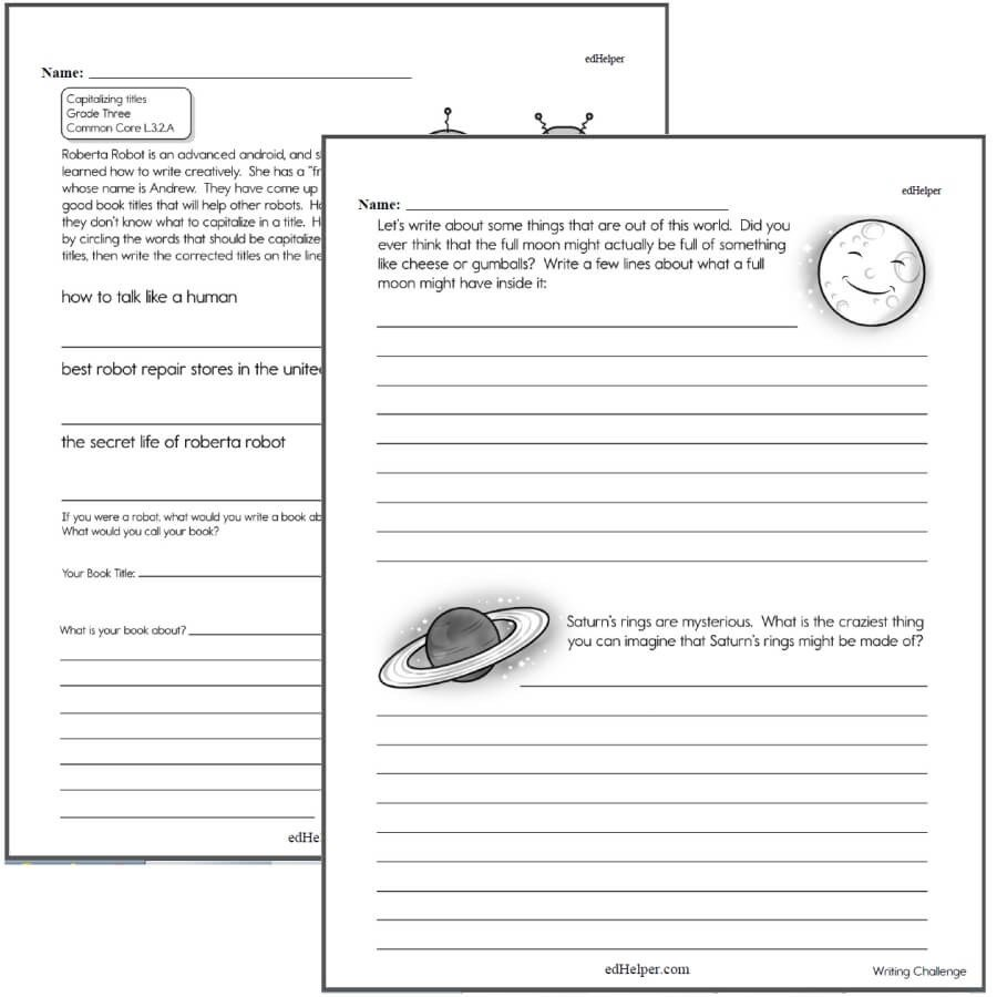 Dialogue Worksheet 5th Grade Writing Worksheets for Creative Kids