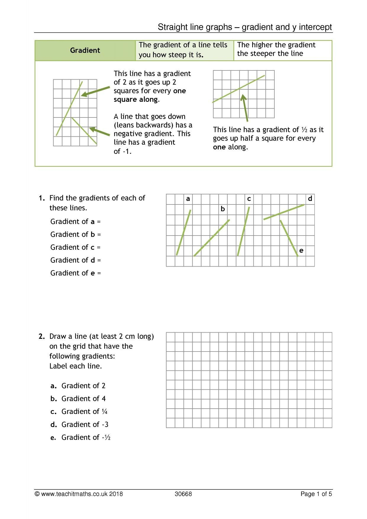Double Line Graph Worksheets Double Line Graph Worksheet