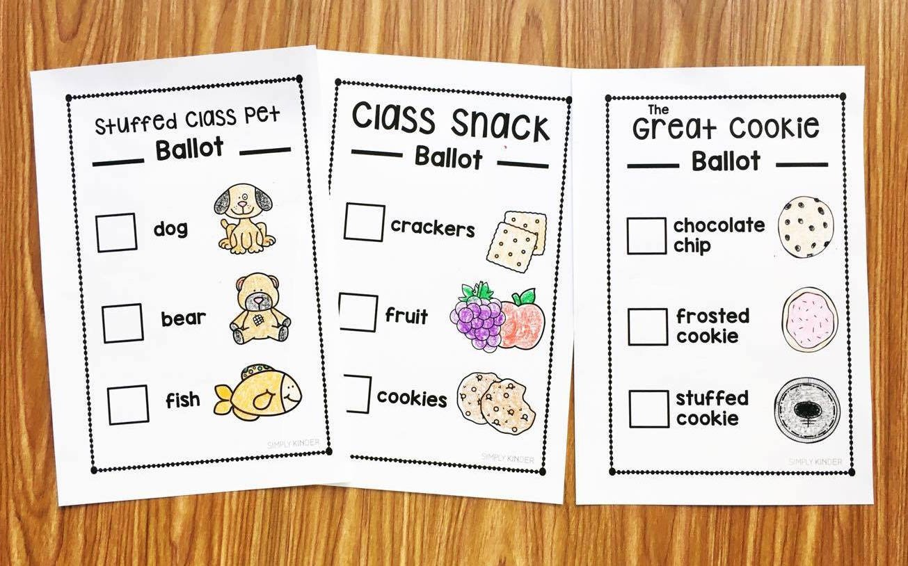 Election Day Worksheets Election Day Activities for Kinder
