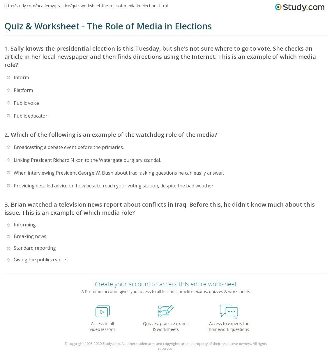Election Worksheets for Elementary Students Prehension Worksheet Voting