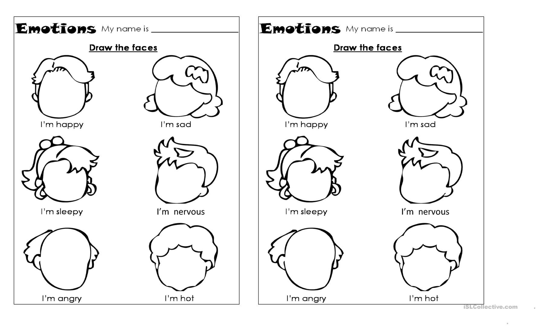 emotions worksheet free esl printable worksheets made by teachers