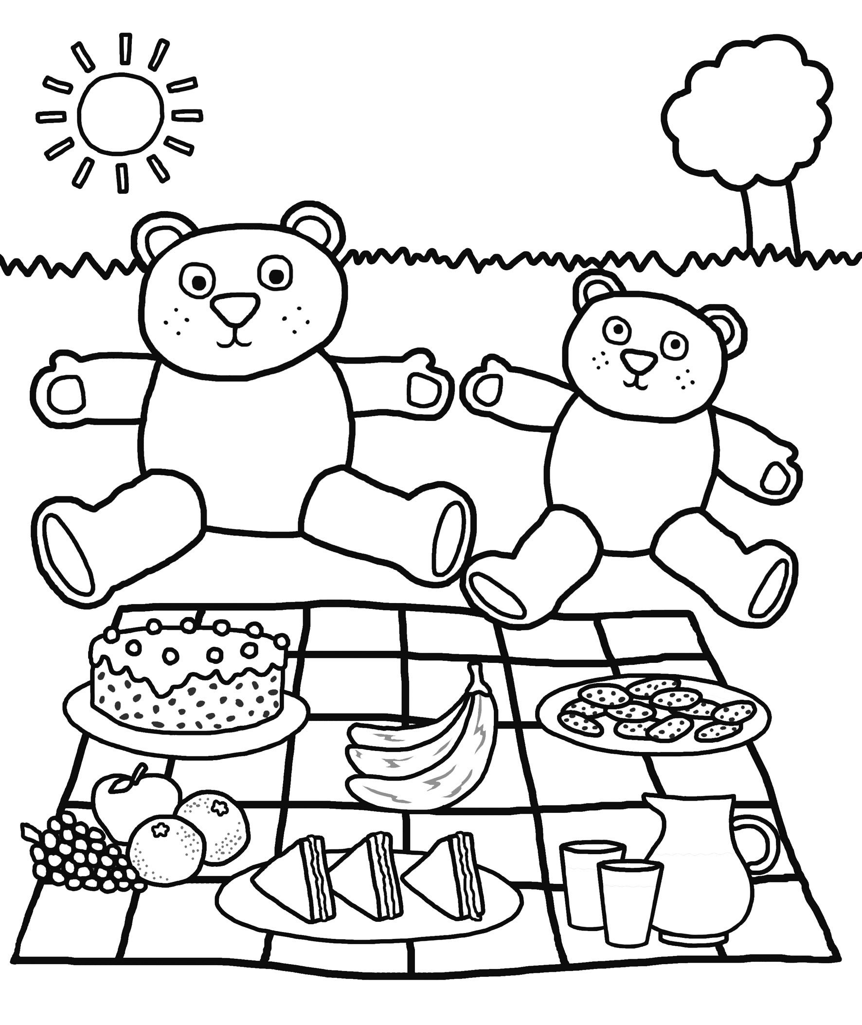 free printabledergarten coloring pages for kids book field day