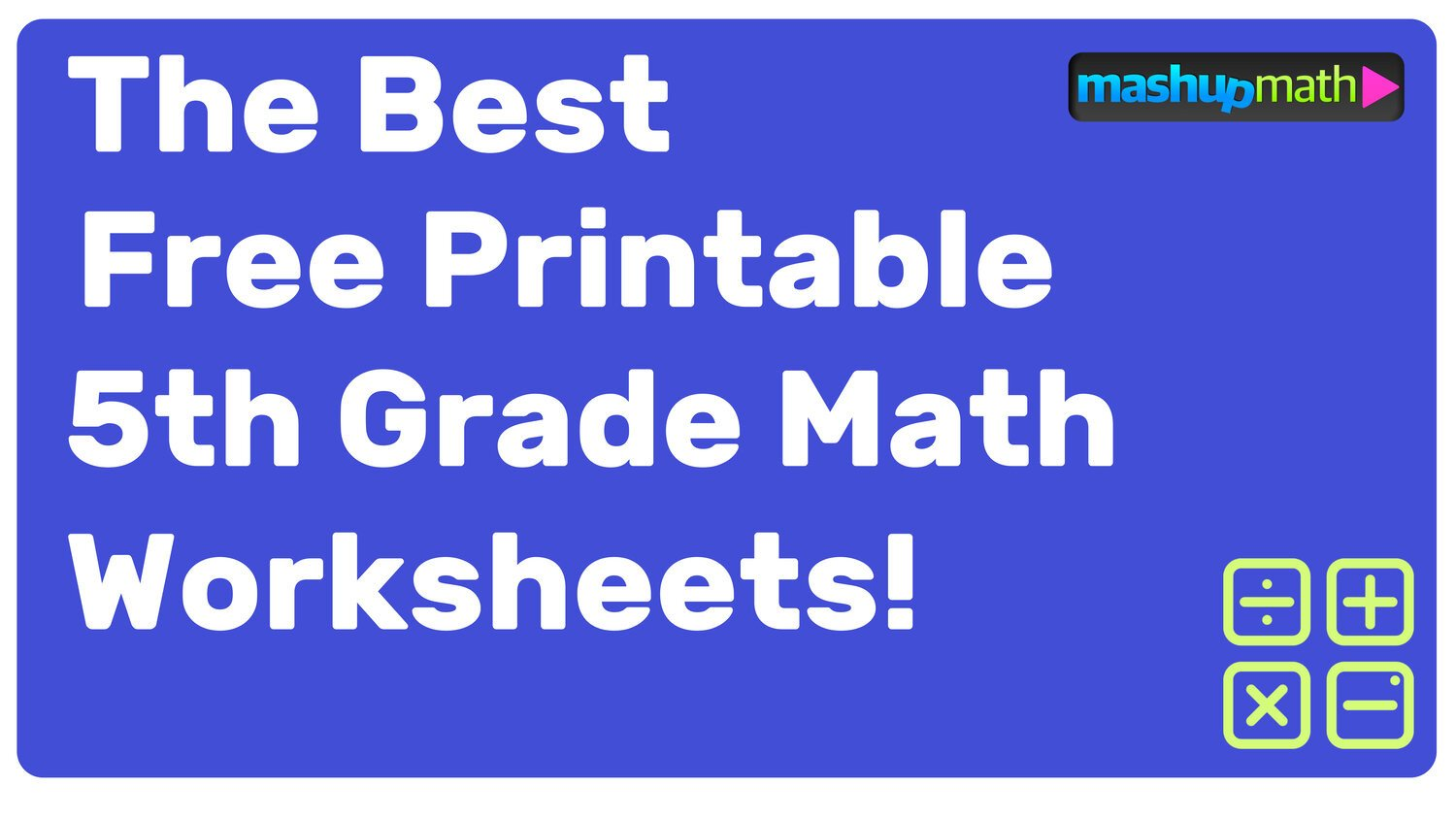 Fifth Grade Measurement Worksheets Free Printable 5th Grade Math Worksheets with Answers