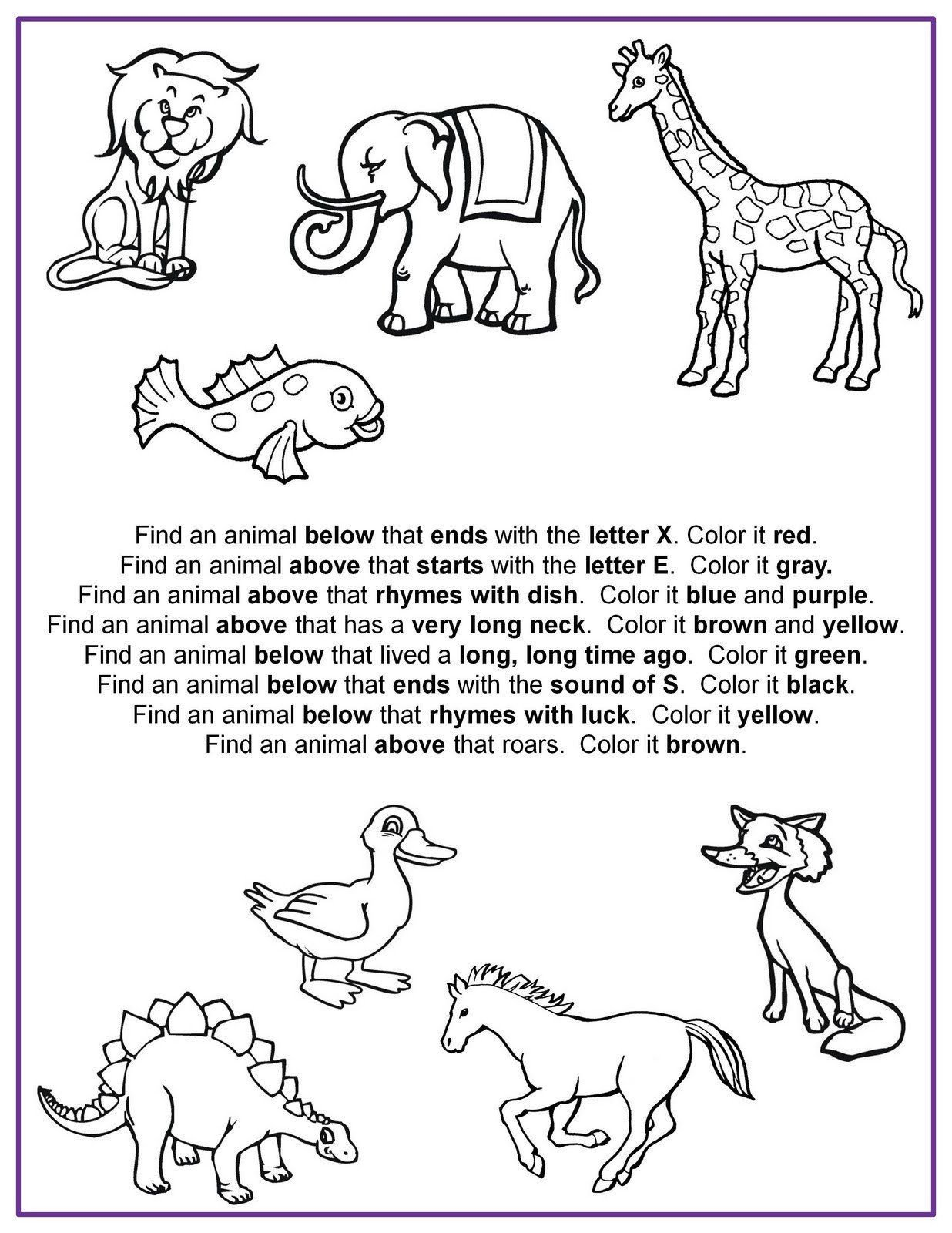 Following Directions Coloring Worksheet 20 Following Directions Coloring Worksheet In 2020