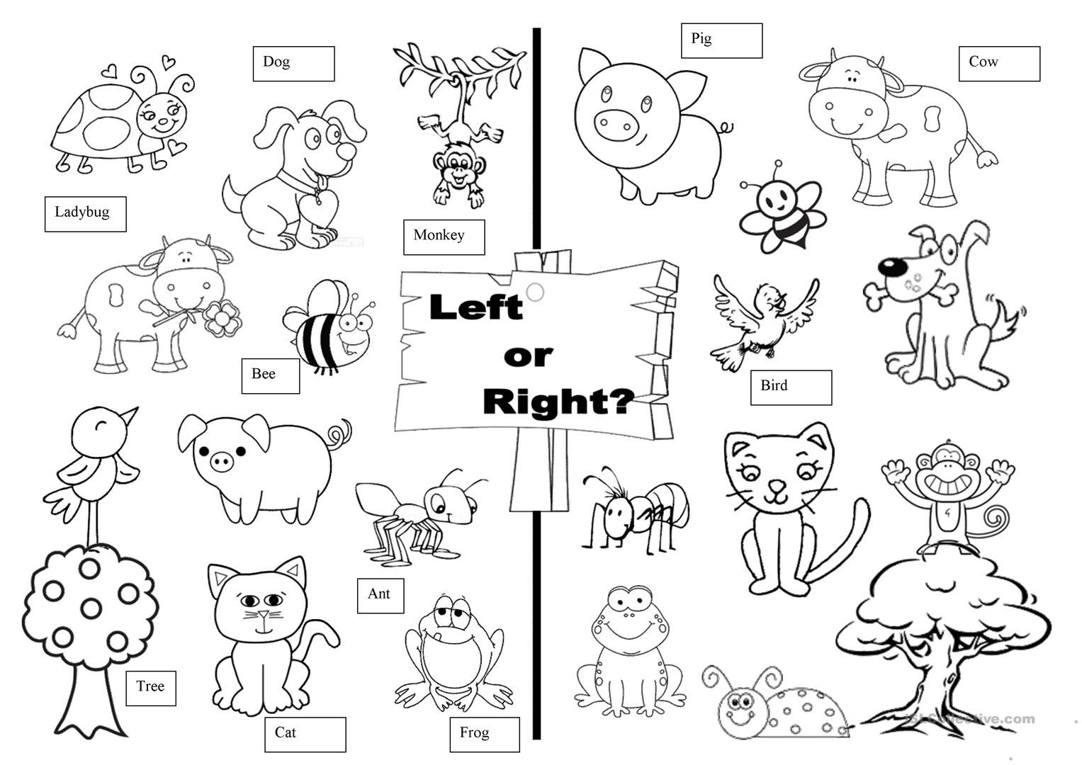 Following Directions Coloring Worksheet Christmas Following Directions Worksheets
