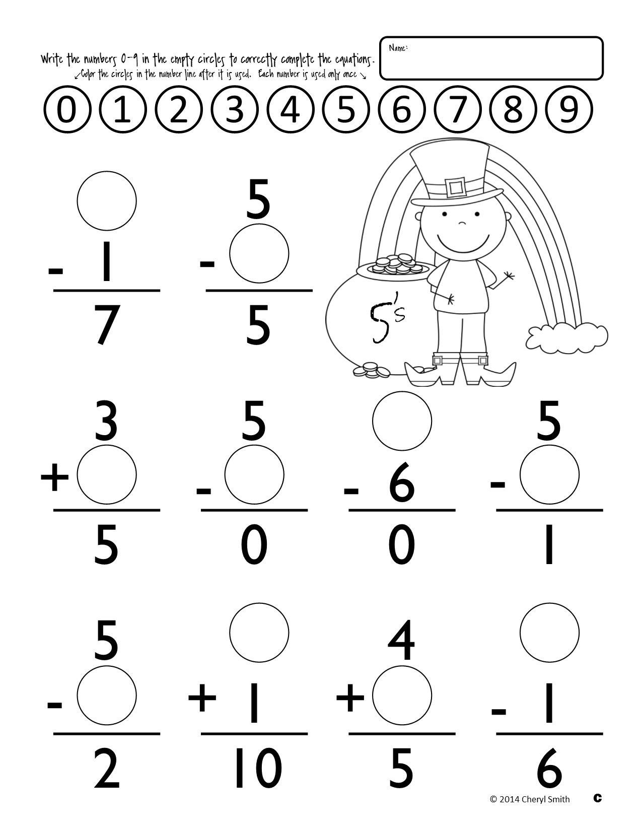 Fractions Common Core Worksheets Worksheets Math Facts St Easter Addition and Subtraction