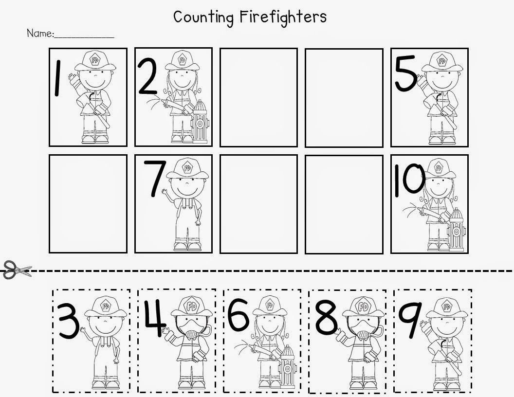Free Fire Safety Worksheets Fire Safety Freebies