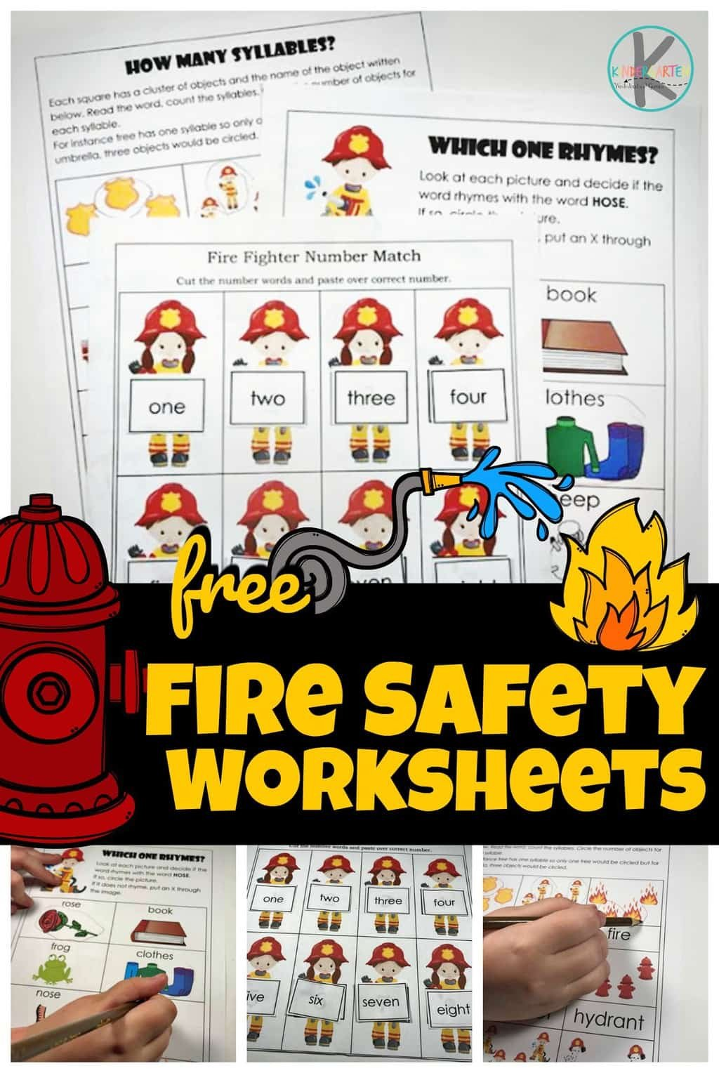 fire safety worksheets