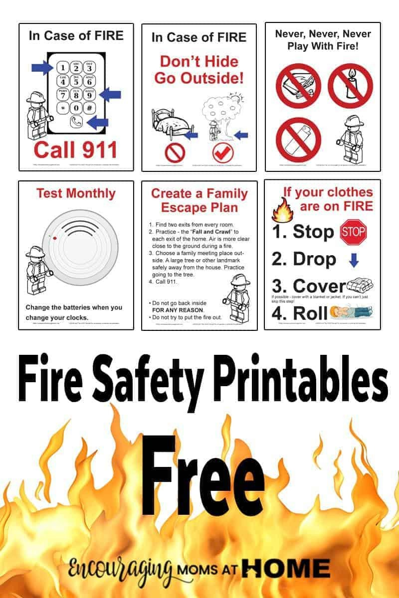 Fire Safety Printable Books