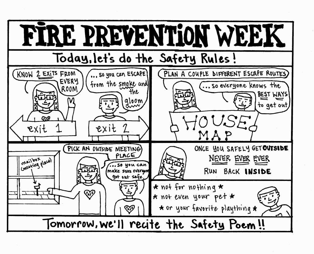 Free Fire Safety Worksheets Sparky the Fire Dog Worksheets