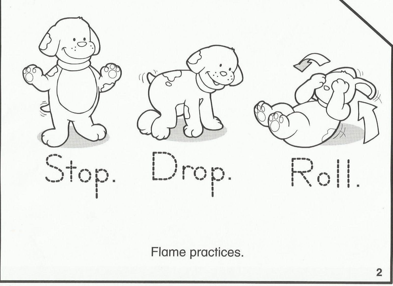 Free Fire Safety Worksheets Squish Preschool Ideas Fire Safety