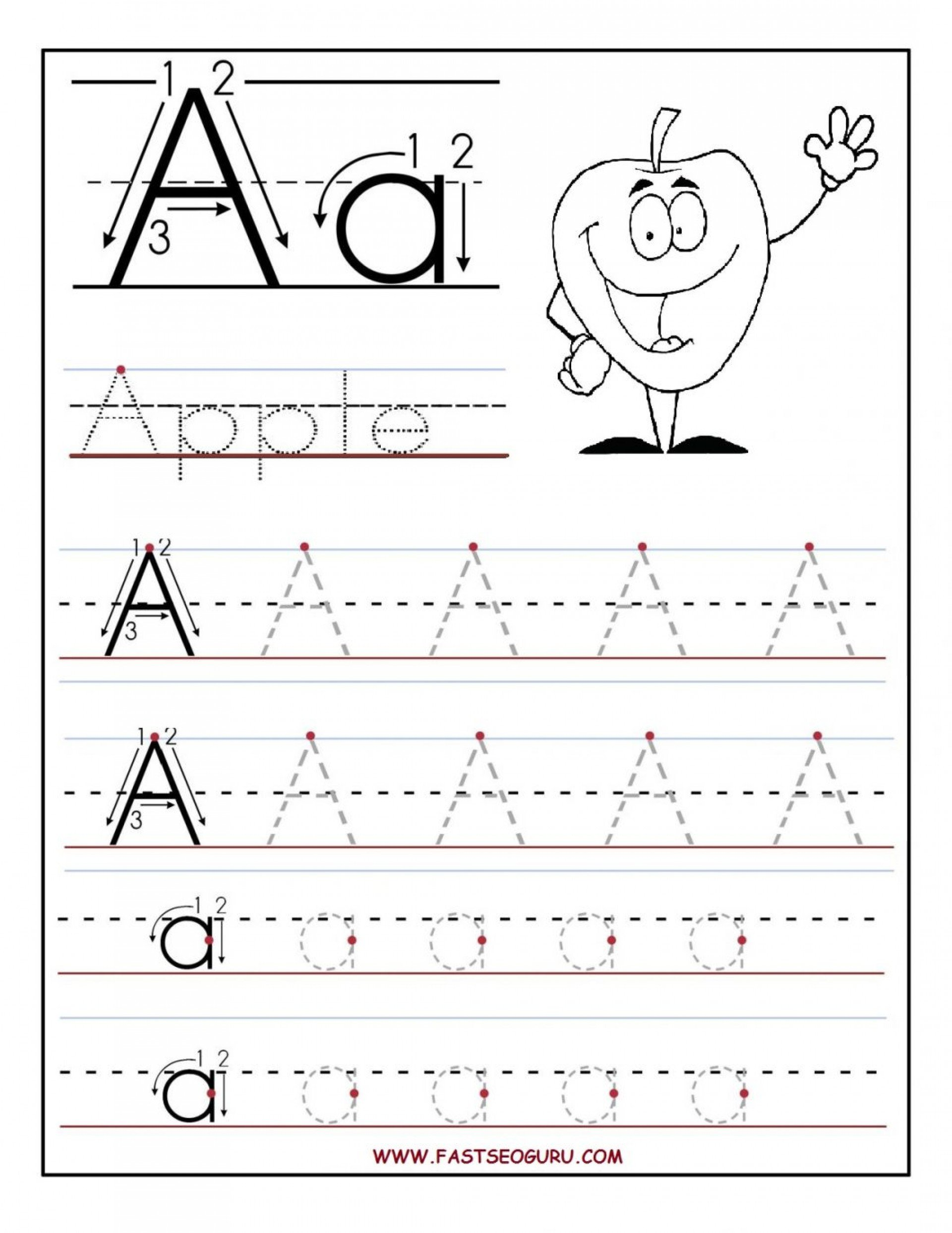 Free Letter Tracing Worksheets Pdf Anniessodasaloon Page 24 Free Handwriting Free Handwriting