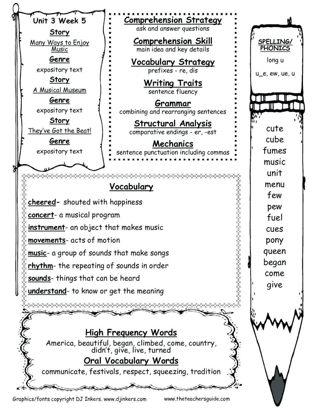 Free Printable Main Idea Worksheets Fifth Grade Main Idea Worksheet