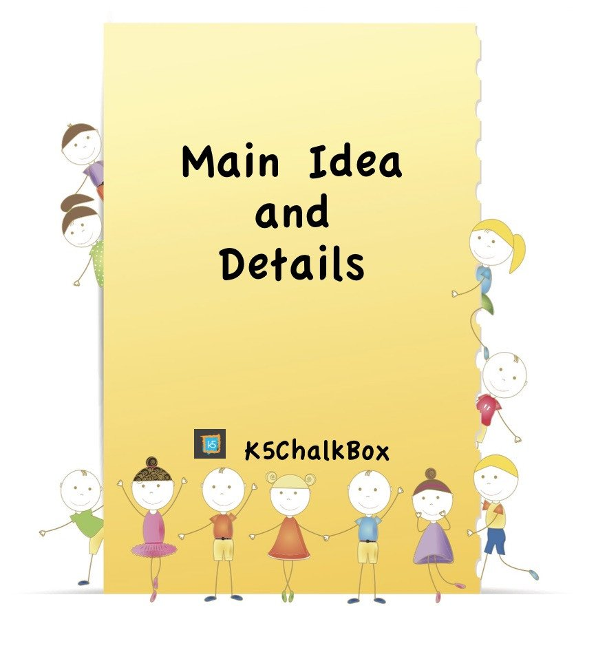 Free Printable Main Idea Worksheets Main Idea and Details