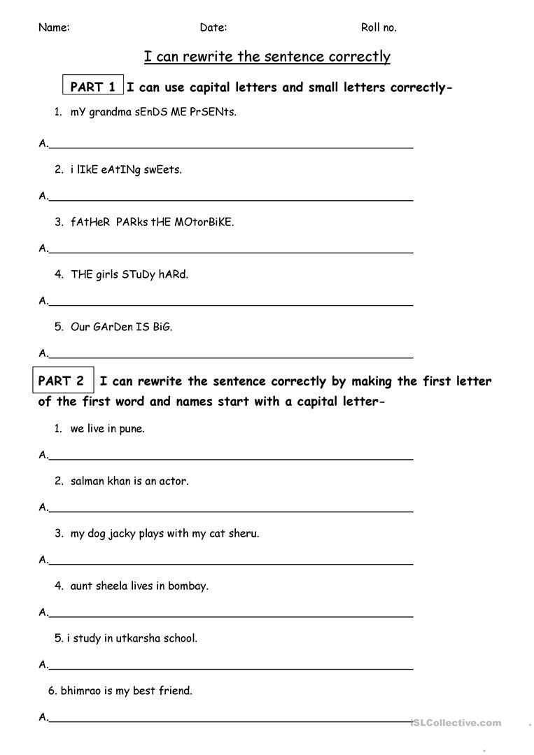 Free Printable Punctuation Worksheets Pin On Printable Worksheet Template
