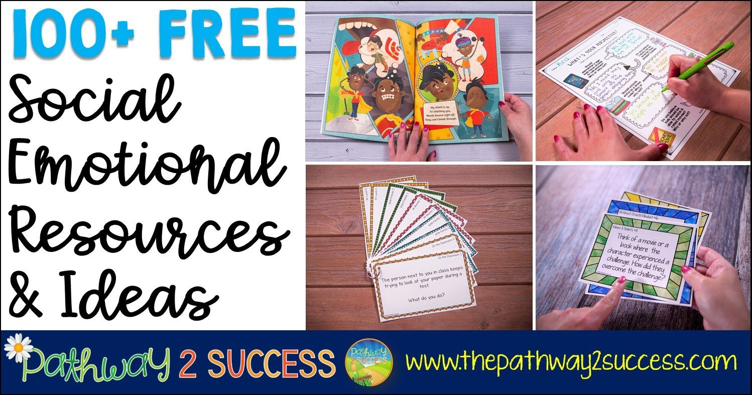 Free Printable social Skills Worksheets 100 Free social Emotional Learning Resources the Pathway