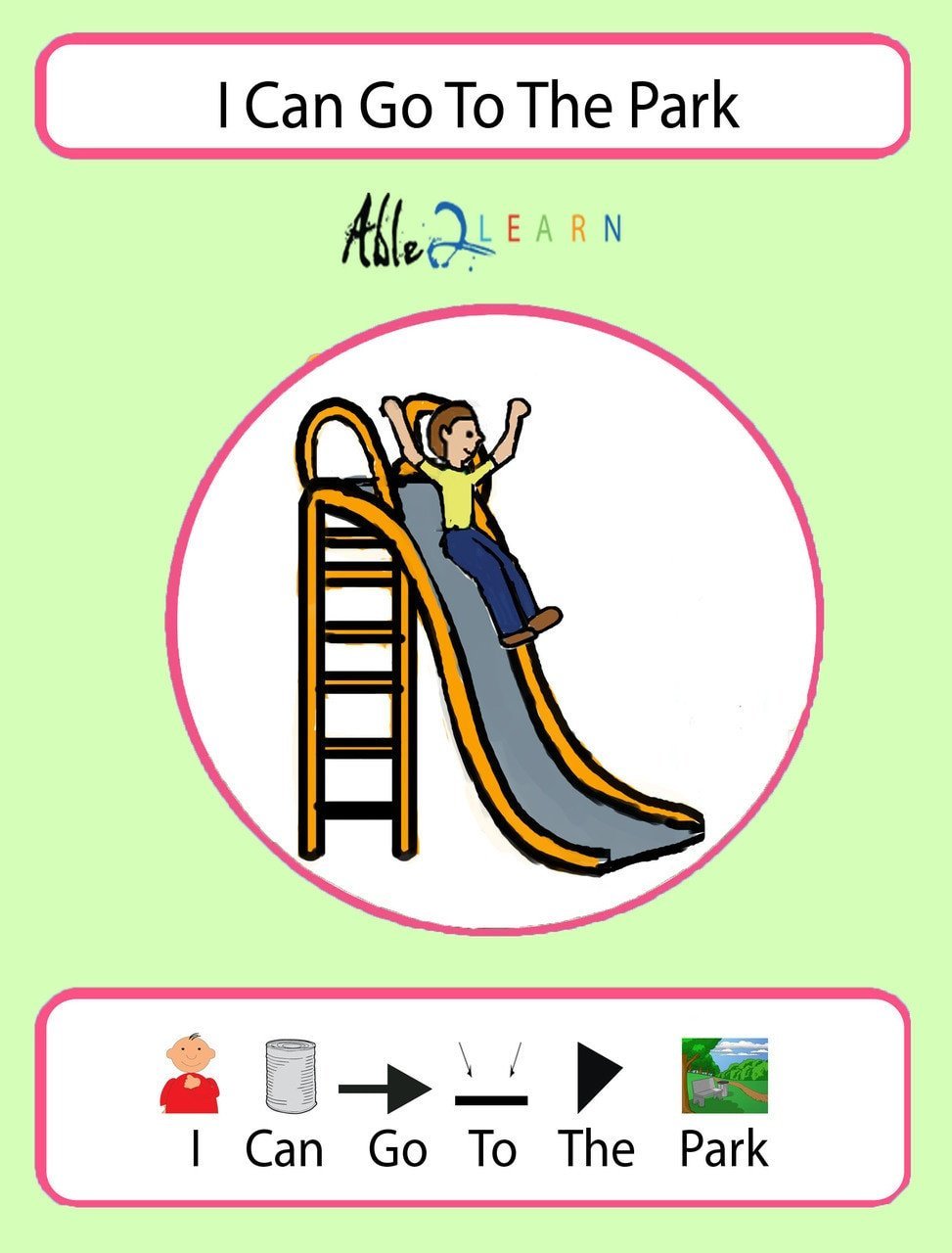 free autism education autism park i can goto park social story able2learn autismwisdom autism school free aba resources free printable worksheets 1
