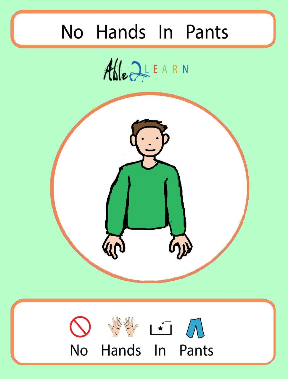 autismwisdom able2learn no hands in pants autism puberty autism health education autism social skills autism school social story free aba resources free printable worksheets 1
