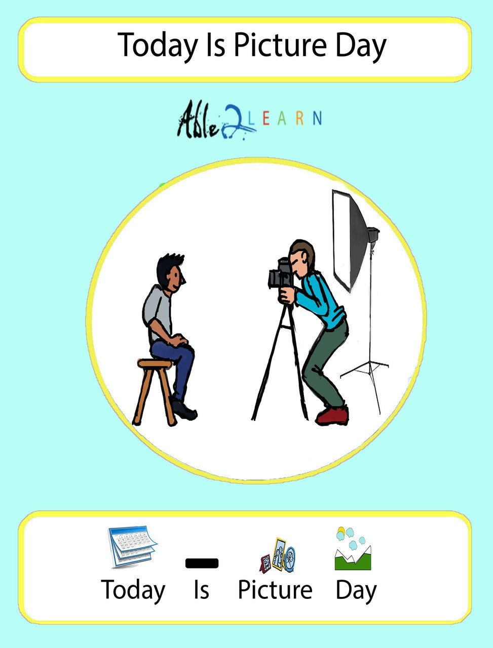 able2learn free social story social story back to school picture day social story picture day free aba resoures special education resources free teaching materials free printable worksheets autism school 1