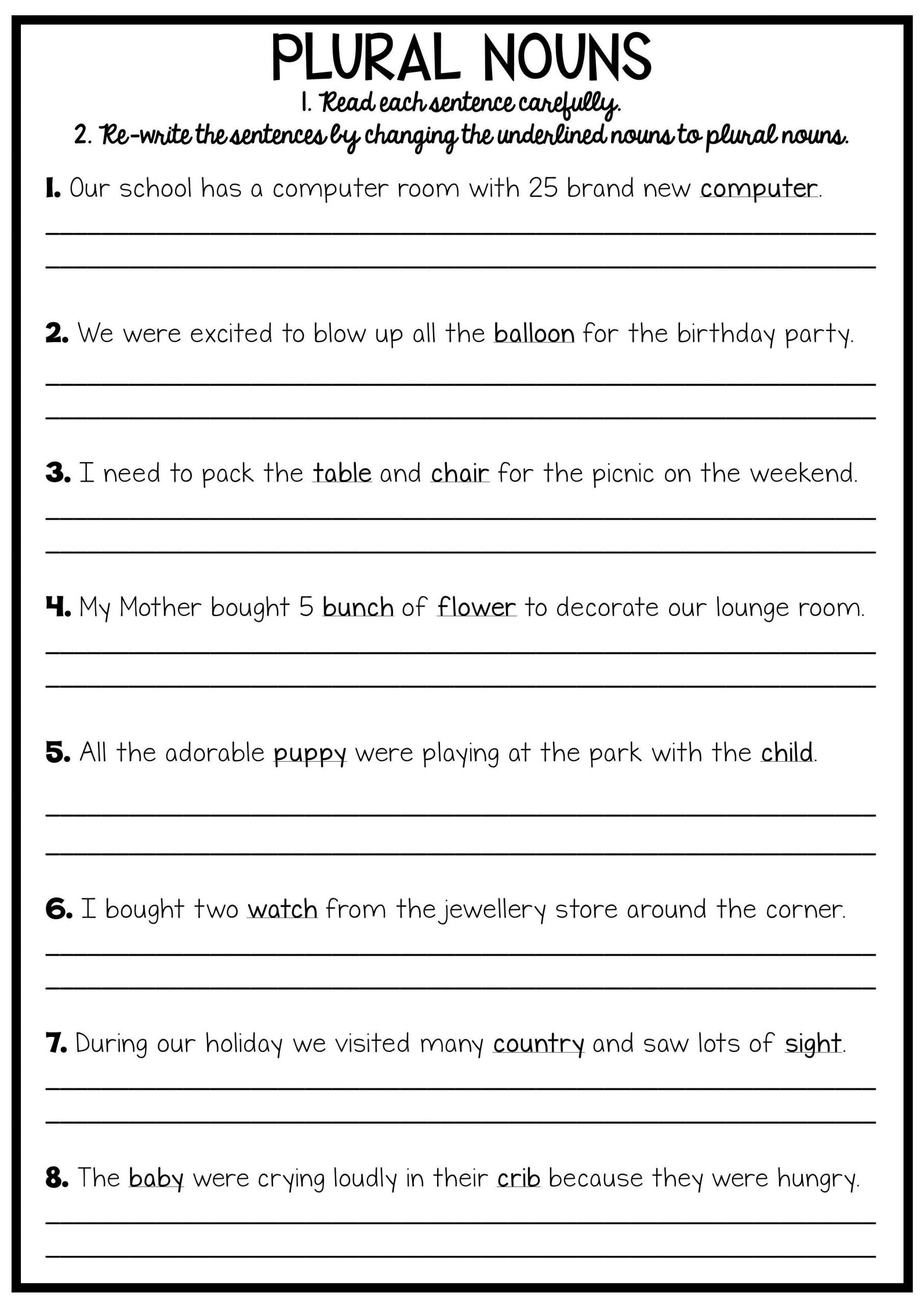 Grammar Worksheets 3rd Graders Legal Summarizing Worksheets 3rd Grade