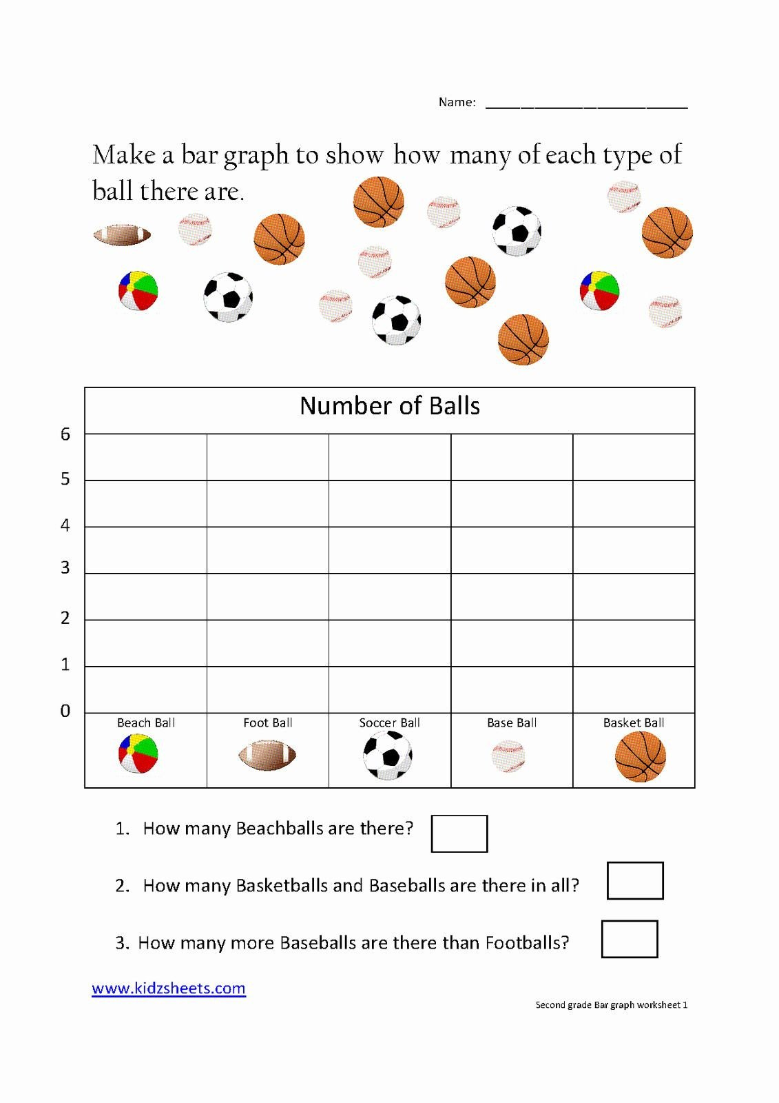 Graphing Worksheets for First Grade Free Bar Graph Worksheets Unique Kidz Worksheets Second