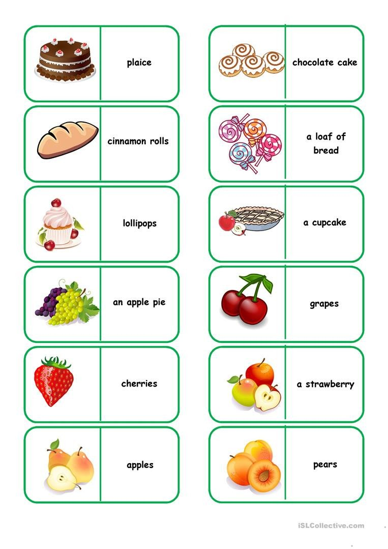 Grocery Shopping Worksheets Shopping for Food English Esl Worksheets for Distance