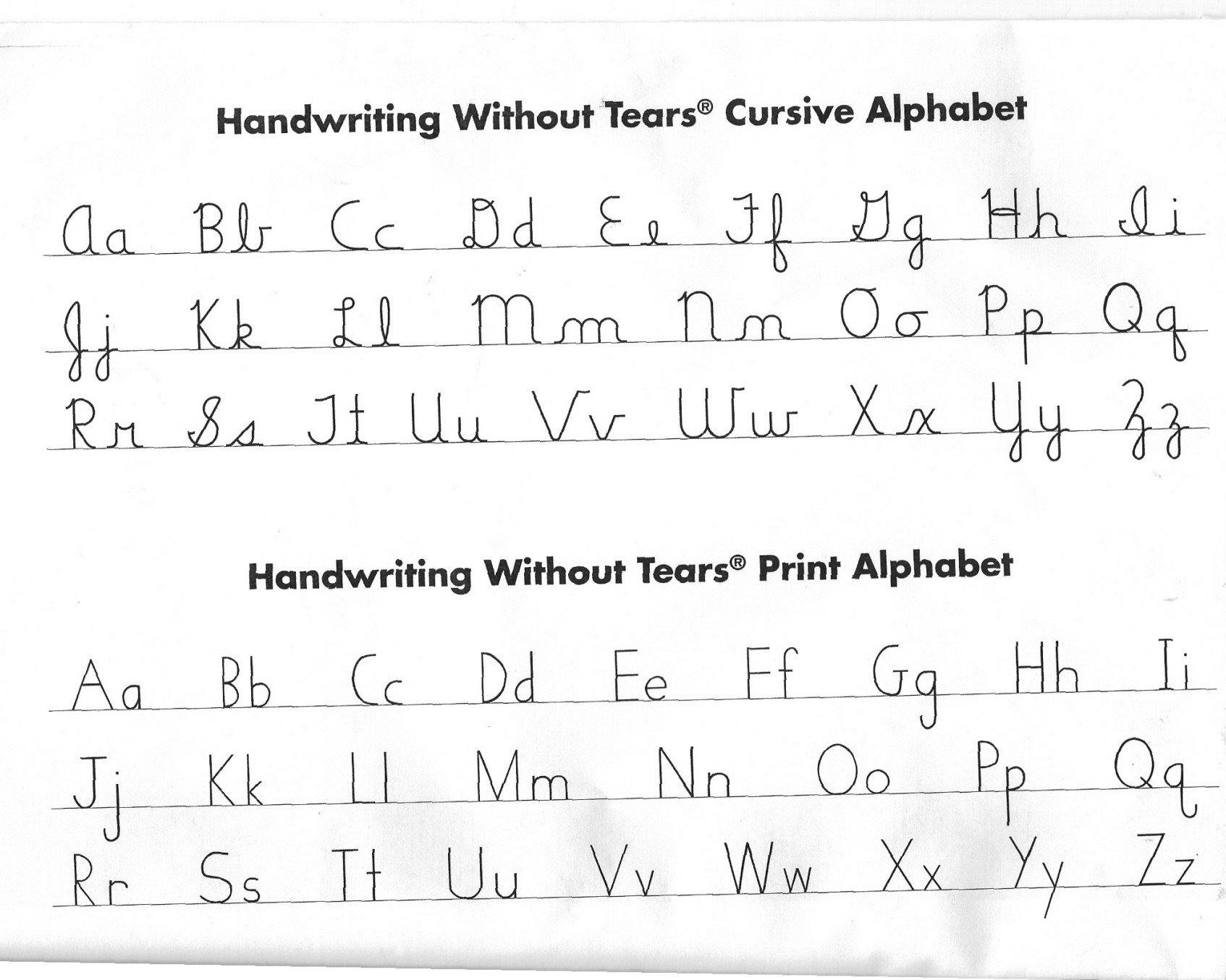 Handwriting without Tears Worksheets Pdf Handwriting without Tears Worksheet